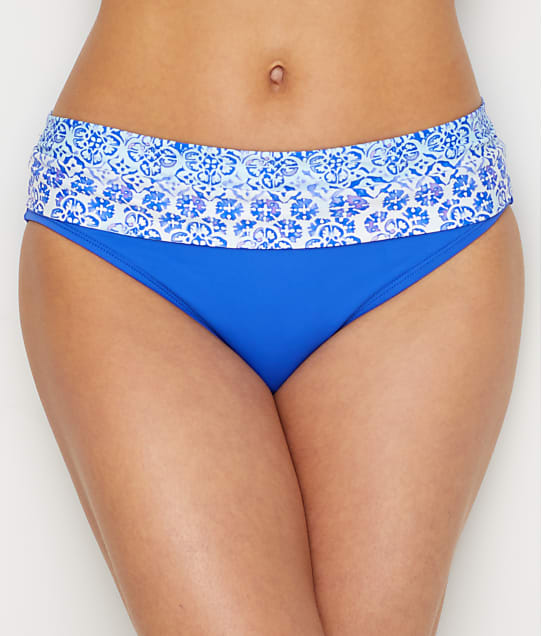 Swim Systems: Dream On Aloha Banded Bikini Bottom