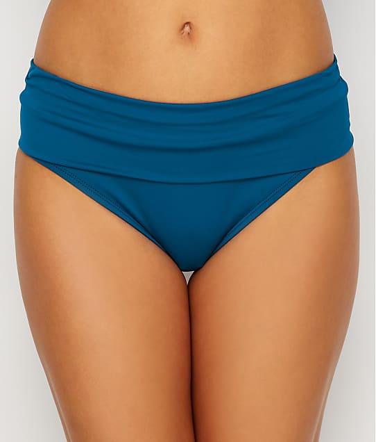 Swim Systems: Nile Blue Aloha Banded Bikini Bottom