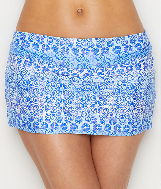 Swim Systems: Dream On Aloha Skirted Swim Bottom