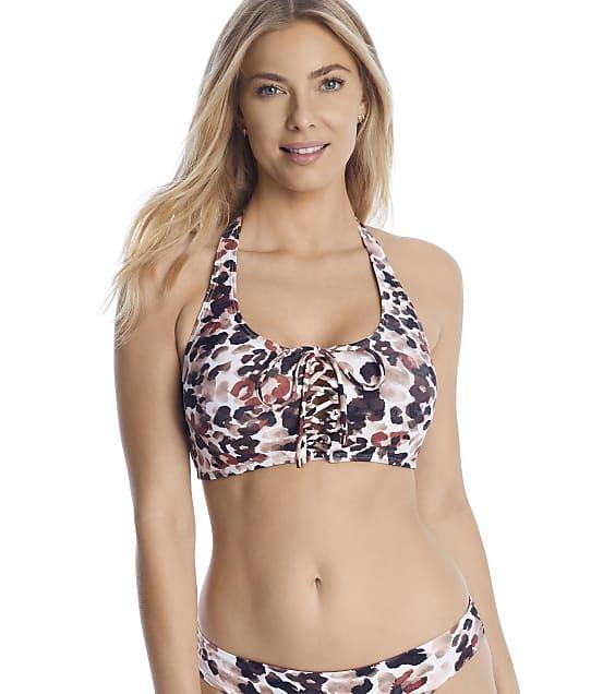 Swim Systems: Serengetti Ahoy Wire-Free Halter Bikini Top