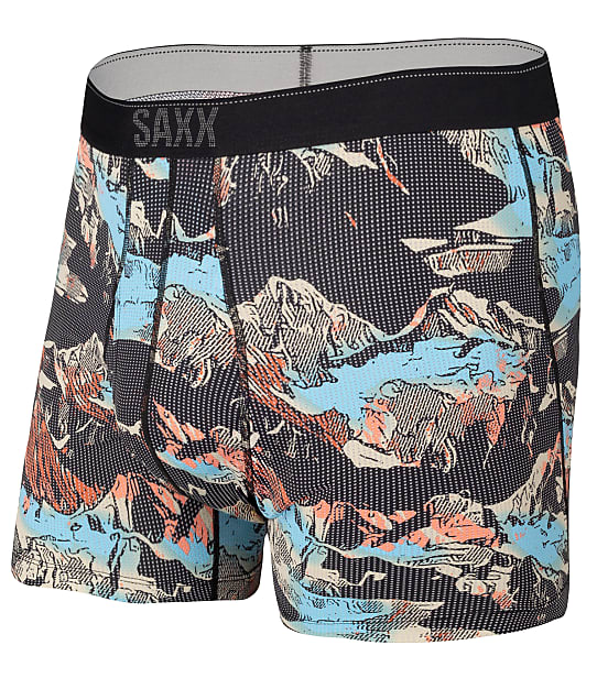 SAXX Quest 2.0 Performance Boxer Brief in Mountainscape SXBB70F