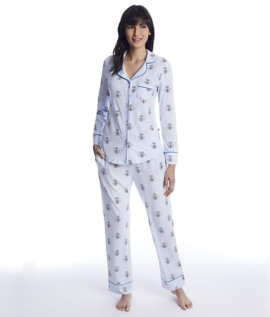 The Cat's Pajamas: Queen Bee Pima Knit Pajama Set