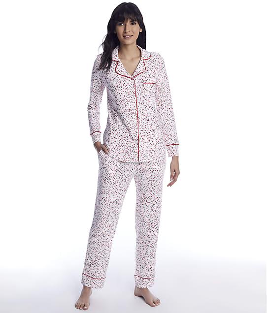 The Cat's Pajamas: Confetti Dot Pima Knit Pajama Set