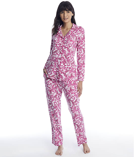 The Cat's Pajamas: Queen Anne Pima Knit Pajama Set