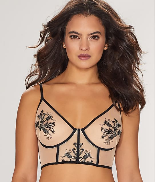 Thistle & Spire: Verona Embroidered Longline Bra