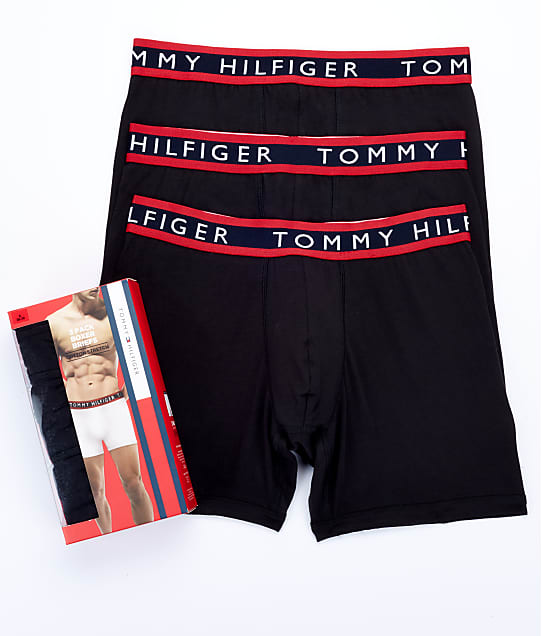 Tommy Hilfiger: Cotton Stretch Boxer Brief 3-Pack