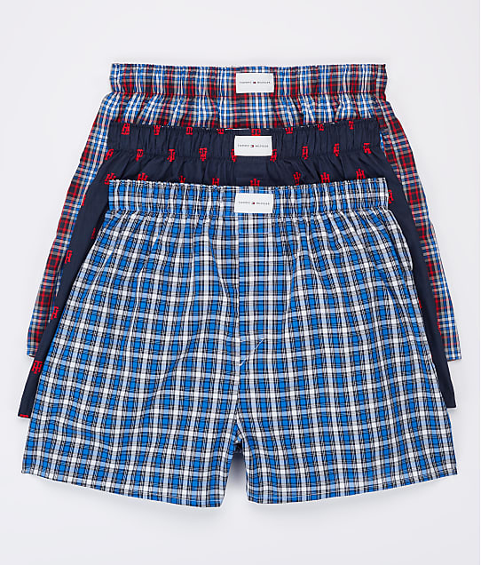 Tommy Hilfiger: Woven Boxer 3-Pack