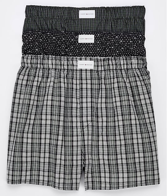 Tommy Hilfiger: Cotton Classics Woven Boxer 3-Pack