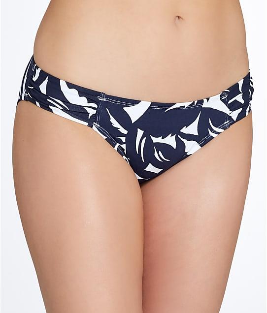 Tommy Bahama: Graphic Jungle Side Shirred Bikini Bottom