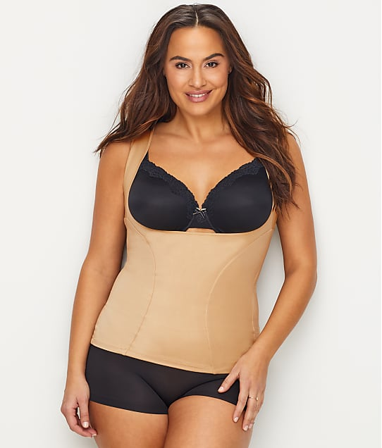 46513aba271 Maidenform Plus Size Firm Control Open-Bust Tank