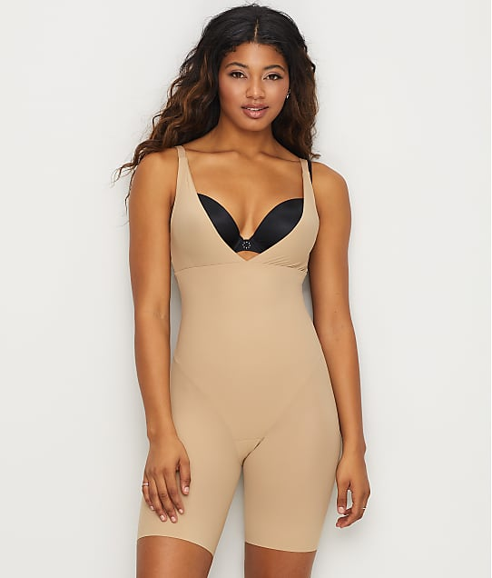 Maidenform Flexees Sleek Smoothers Firm Control Singlet in Body Nude(Front Views) 2556