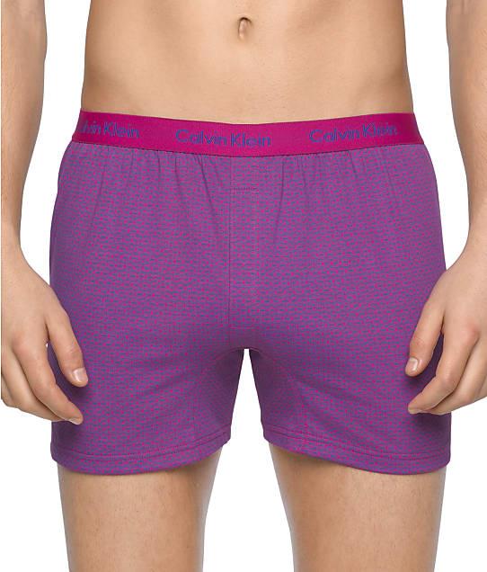 Calvin Klein: BXR Matrix Slim Fit Knit Boxer