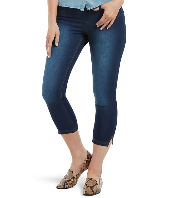 HUE: Ultra Soft Denim Capri Leggings