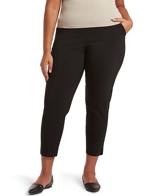 HUE: Plus Size Temp Tech Trouser Pants