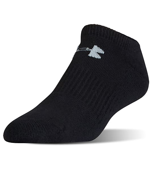 Under Armour: Charged Cotton No Show Socks 6-Pack