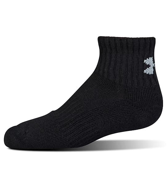 Under Armour: Charged Cotton Quarter Socks 6-Pack