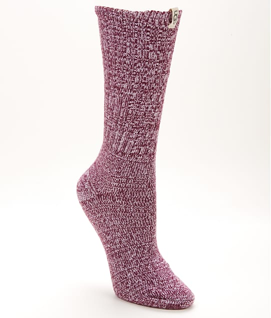 UGG: Rib Knit Slouchy Crew Socks