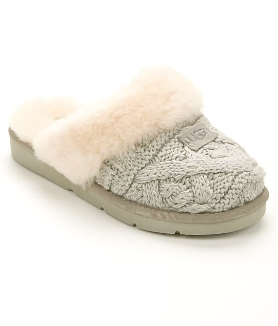 UGG: Cozy Cable Knit Slippers
