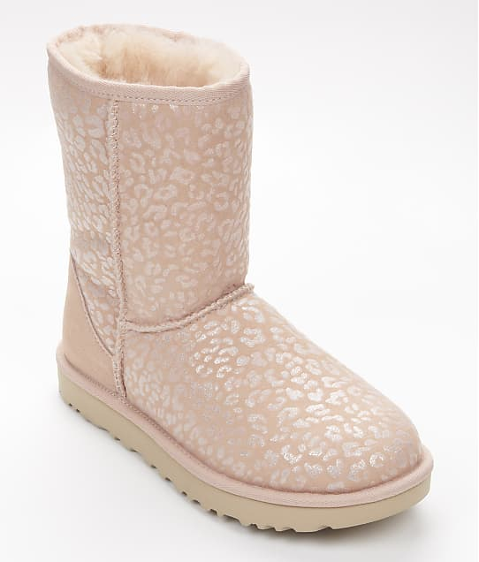 UGG: Classic Short Snow Leopard Boots