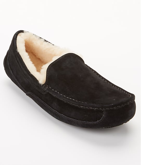 UGG: Men's Ascot Suede Slippers