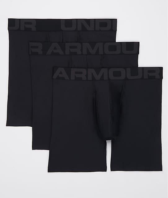 Under Armour: Tech 6'' Boxerjock Boxer Brief 3-Pack