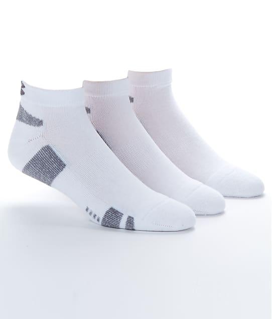 Under Armour: Men's Heatgear Low Cut Socks 3-Pack