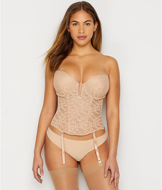 8e4b51687082b Va Bien Deep Plunge Push-Up Bustier | Bare Necessities (6163)