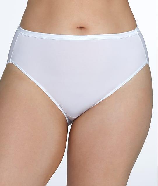 Vanity Fair Plus Size Illumination Hi-Cut Brief in Star White 13810