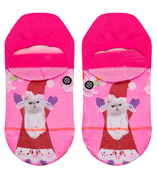 Stance Santipaws Invisible Socks in Pink W145D18SAN