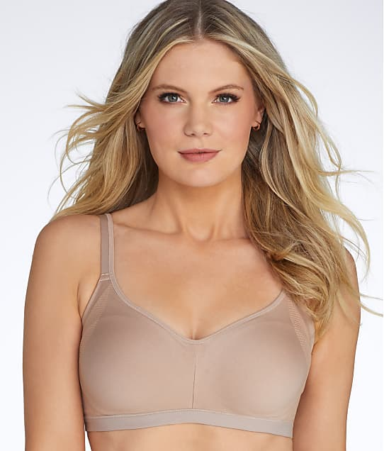 Warner's Easy Does It  Wire-Free Bra in Toasted Almond(Front Views) RM3911A