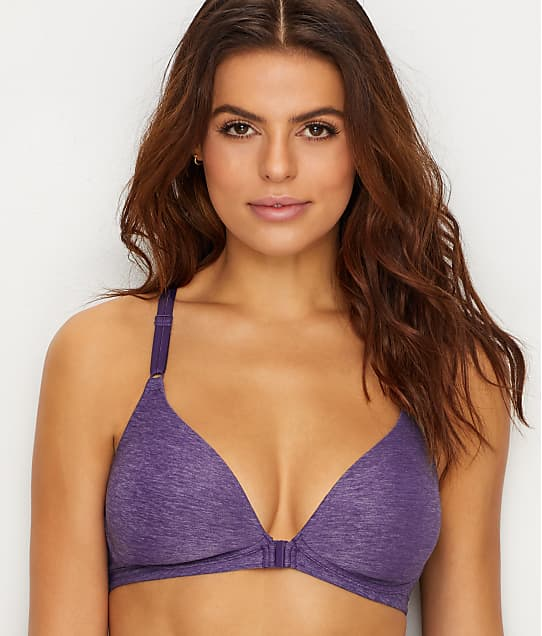 Warner's: Play It Cool Wire-Free Front-Close T-Shirt Bra