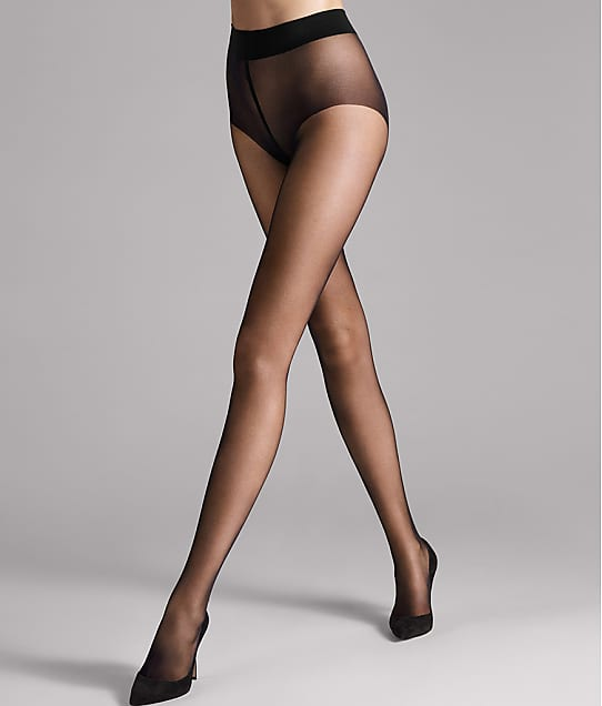 Wolford Pure 10 Denier Pantyhose in Black 144-97