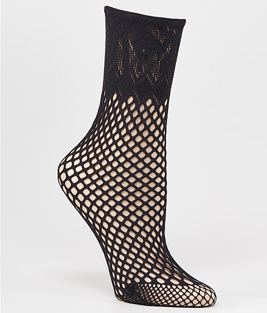 Wolford Clairee Socks in Black 41581
