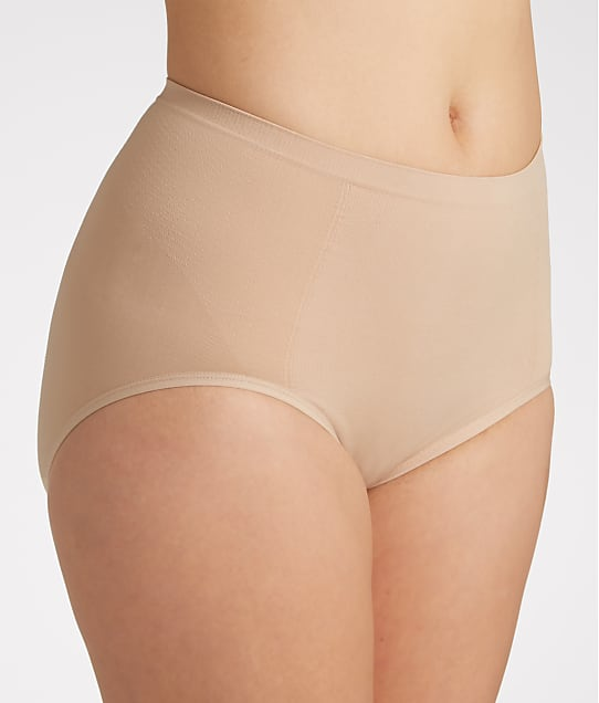Bali Seamless Firm Control Brief 2-Pack in Nude X245