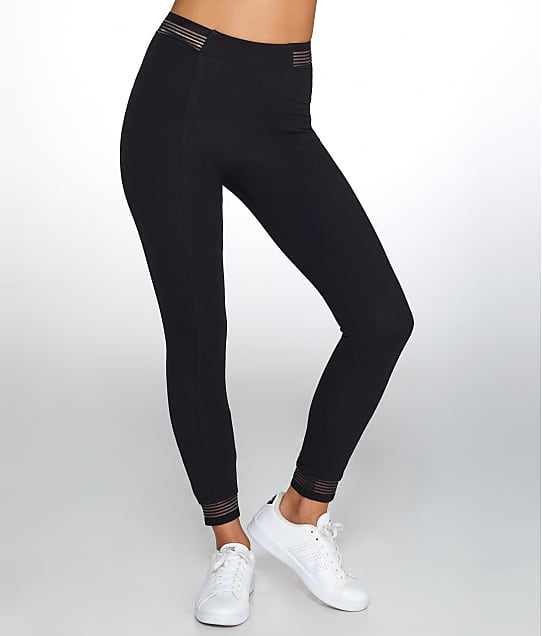 Yummie: Medium Control Stripe Elastic Leggings