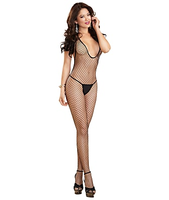 Dreamgirl Crotchless Halter Bodystocking