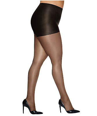 Hanes Plus Size Silk Reflections Control Top Pantyhose