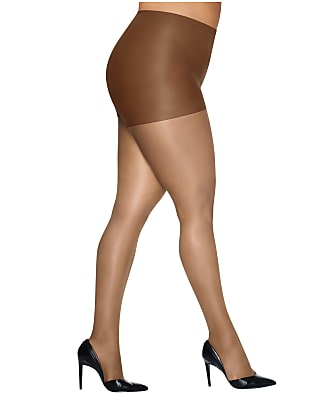 Hanes Plus Size Silk Reflections Control Top Pantyhose