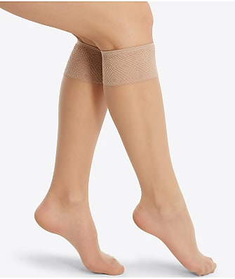 SPANX Plus Size Sheer Hi-Knee Socks 2-Pack