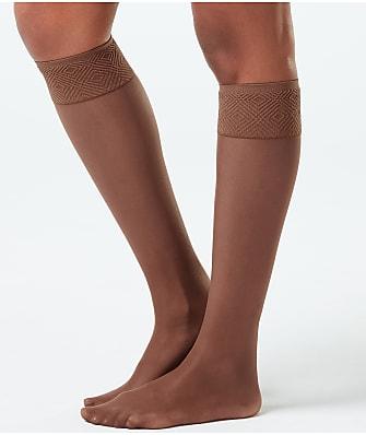 SPANX Plus Size Sheer Hi-Knee Socks 2-Pack