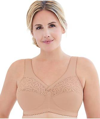 Glamorise MagicLift Cotton Support Wire-Free Bra