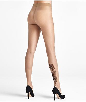 Wolford Galya Snake Tattoo Ink Pantyhose