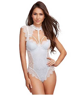 41ee71972e8 Dreamgirl High Neck Lace Teddy