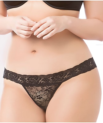 Seven 'til Midnight Plus Size Keyhole Lace Thong