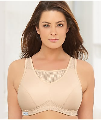 Glamorise Medium Impact Wire-Free Sports Bra