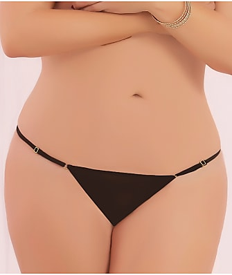 Seven  til Midnight Plus Size Mesh Thong df9a8f1518