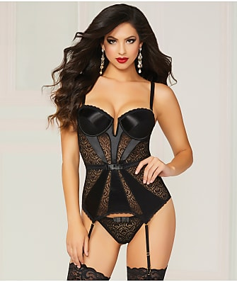 Seven 'til Midnight Pleasure Princess Bustier Set