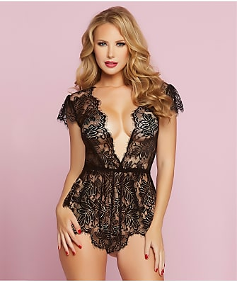 Seven 'til Midnight Temptation Lace Romper
