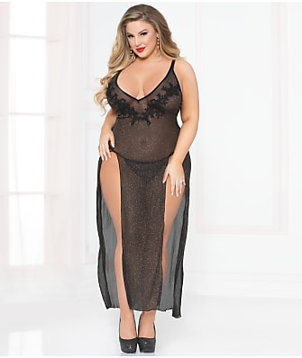 Seven 'til Midnight Plus Size All That Glitters Gown Set