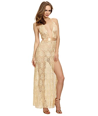 Dreamgirl Lace Halter Maxi Dress
